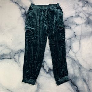 BCBG velour pants